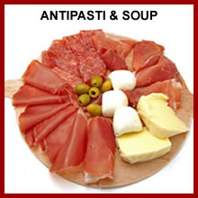 ANTIPASTI AND SOUP